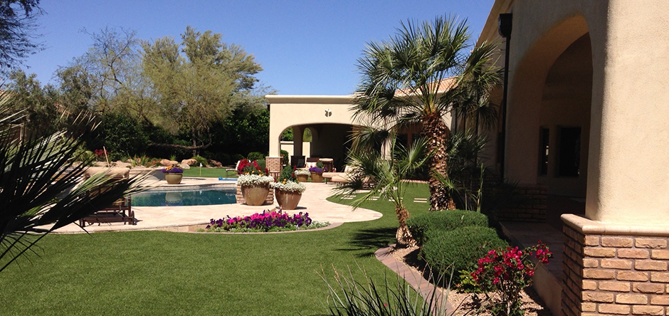 We do custom Landscaping Design & Installation. Check out our Portfolio.