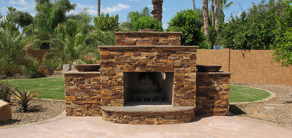 We specialize in custom Masonry work.